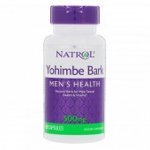 Natrol Yohime Bark 500mg (90 капс)
